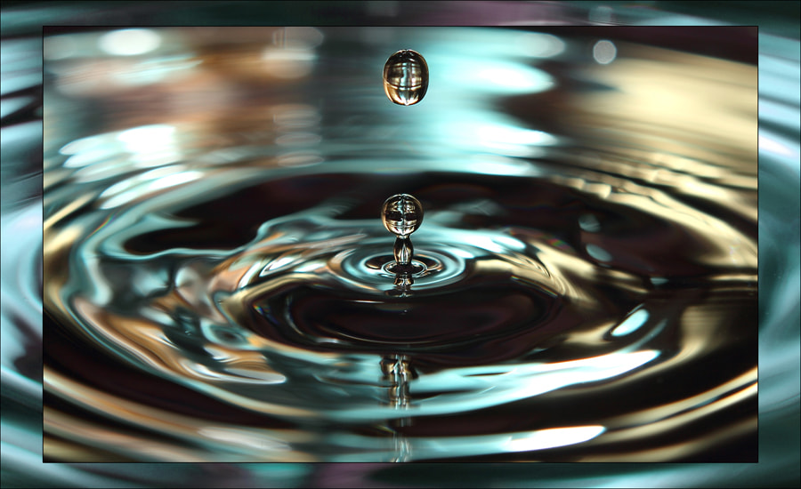 Photograph Droplet by Canaan David on 500px