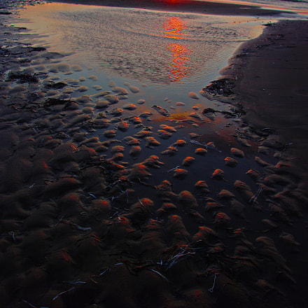 Ripples in the Sand, Pentax K20D