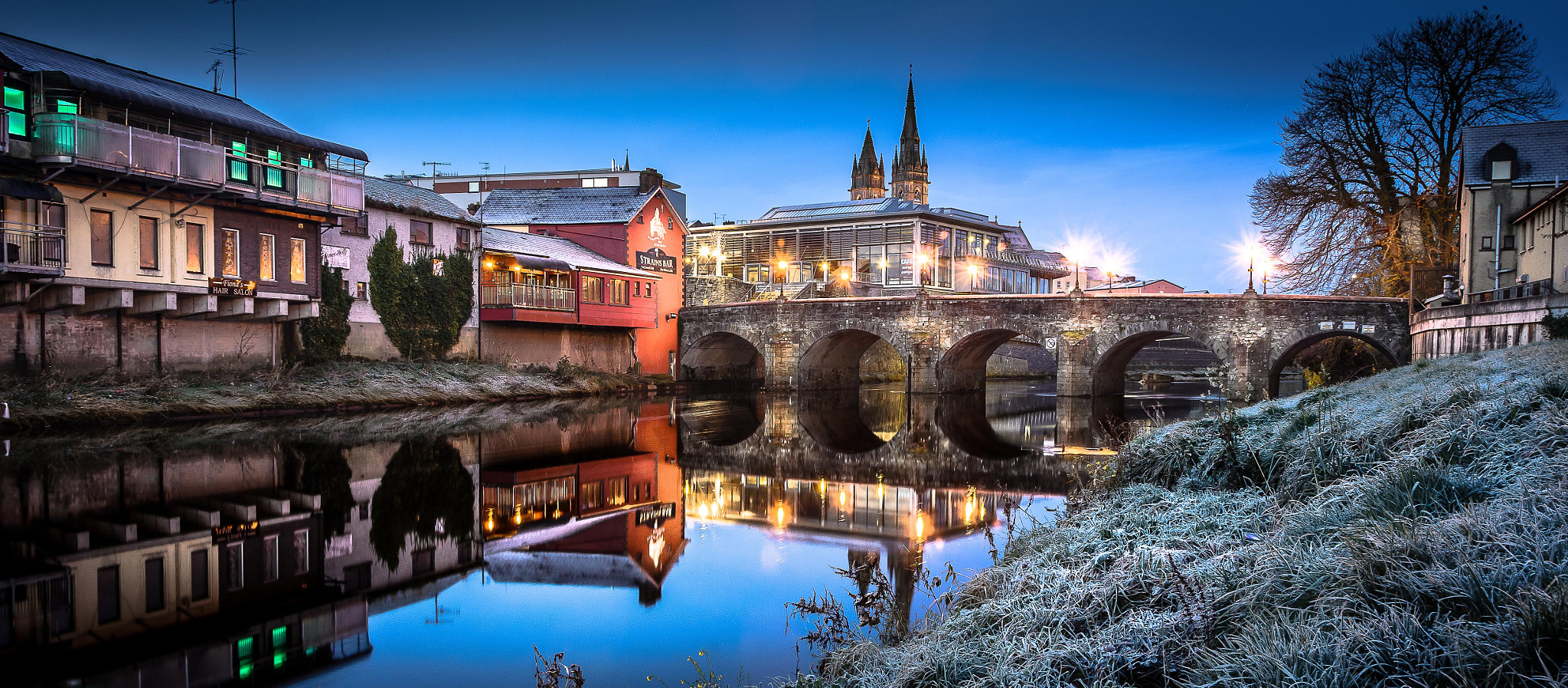 Photograph Bells Bridge Omagh  by Tony Moore on 500px