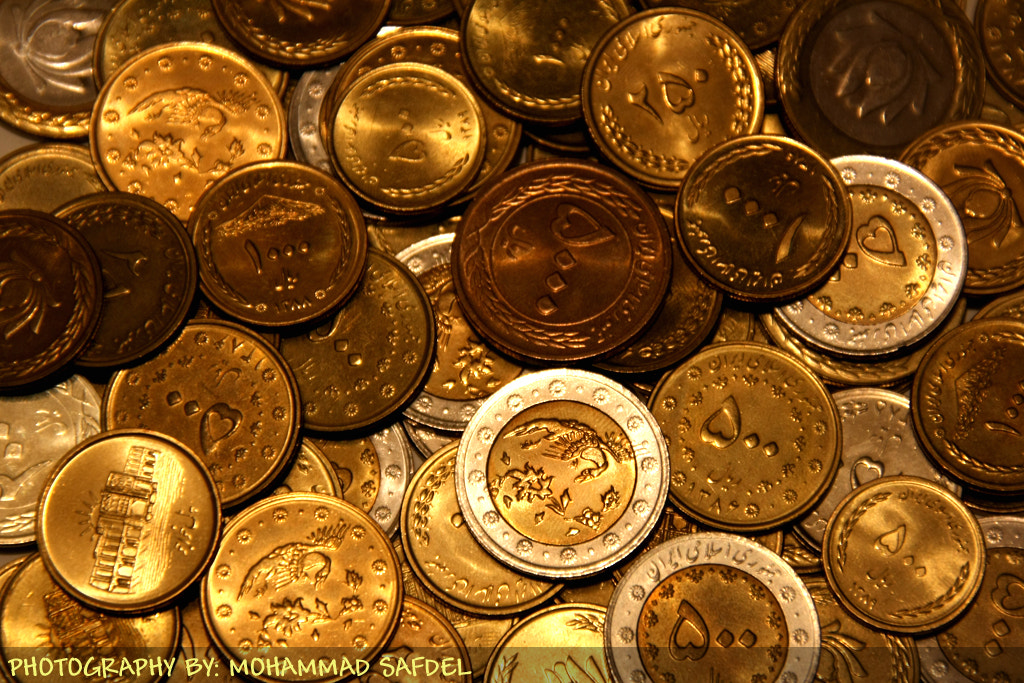 Photograph Coins by Mohammad Safdel on 500px