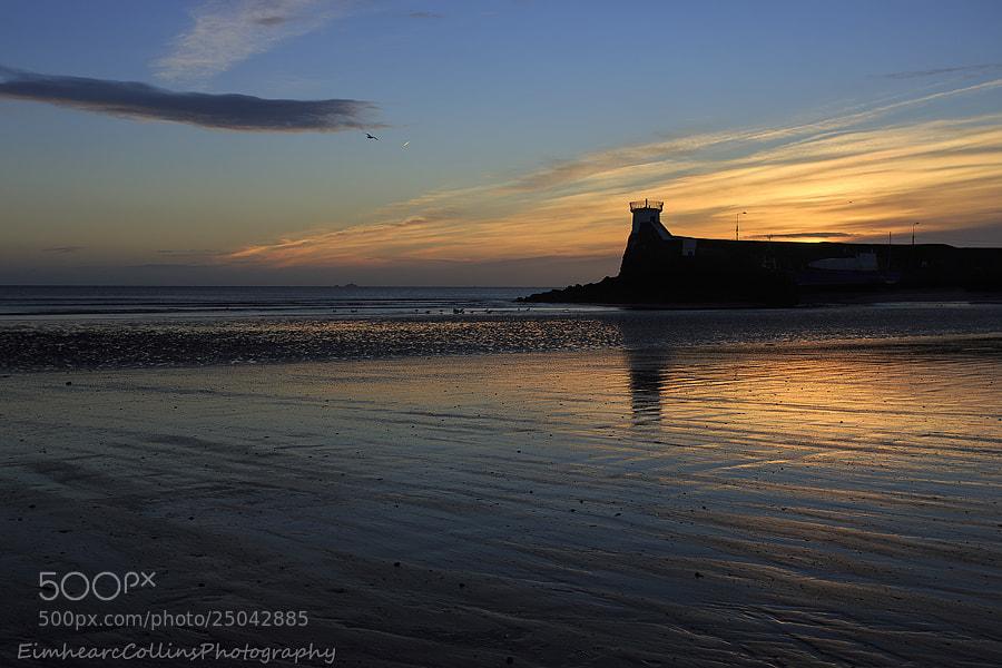Sunrise at Balbriggan beach