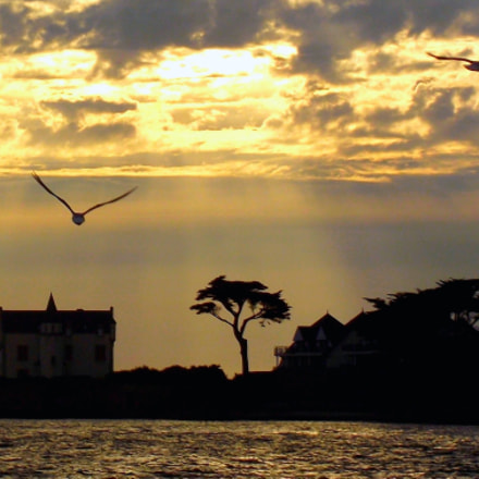 Sunset, Fujifilm FinePix S2500HD