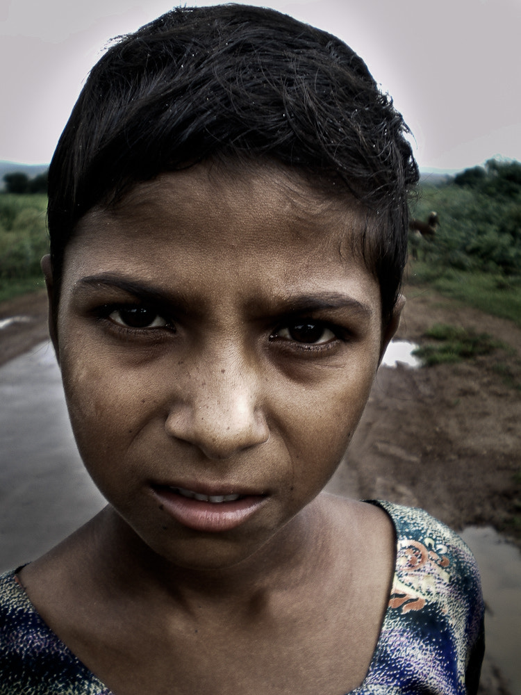 Photograph indian girl by philippe launois on 500px