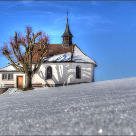 Egg-Kapelle, Entlebuch, Nikon D810, AF-S VR Zoom-Nikkor 24-120mm f/3.5-5.6G IF-ED