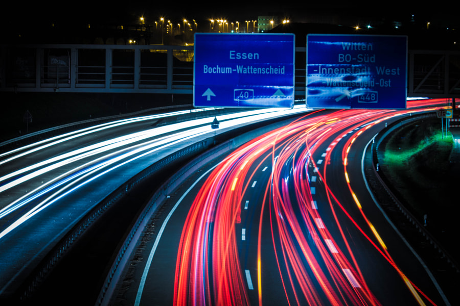 Motorway by Stephan Köninger on 500px.com