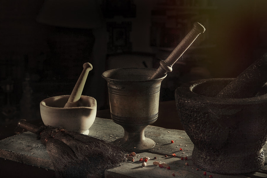 Mortar & Pestle by Eleni Synodinos on 500px.com