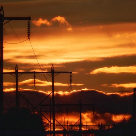 Power Lines, Nikon COOLPIX S9600