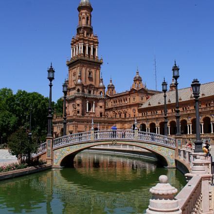 Plaza de Espana, Seville, Canon EOS 60D, Canon EF-S 18-55mm f/3.5-5.6 IS STM