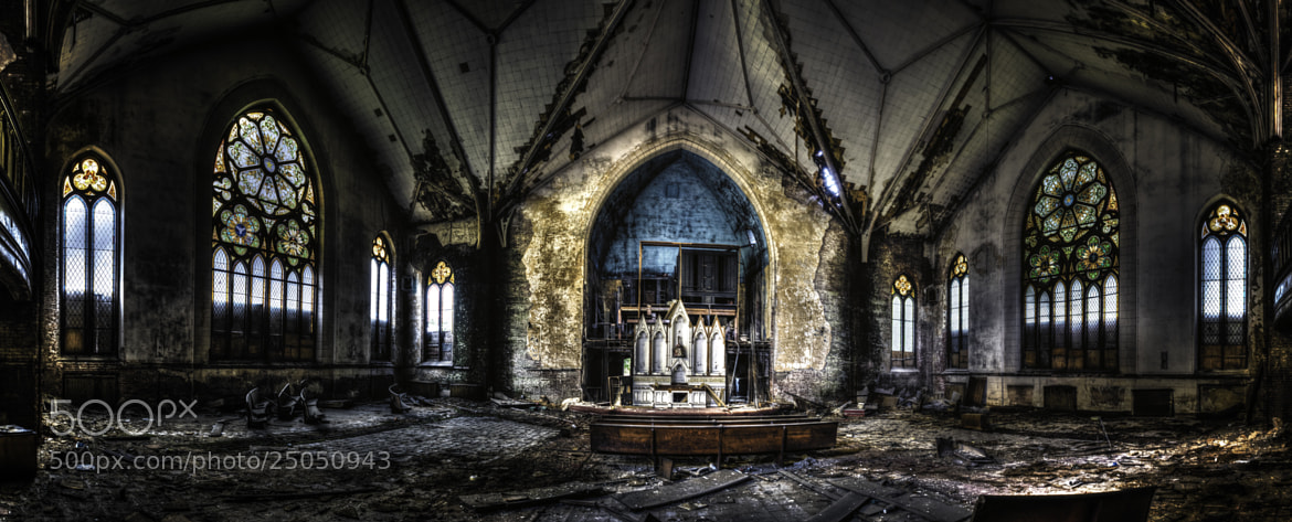 Photograph Urbex Church  by Weisser  Photography  on 500px