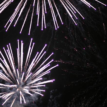 Fireworks1, Canon EOS 400D DIGITAL, Canon EF 85mm f/1.8 USM