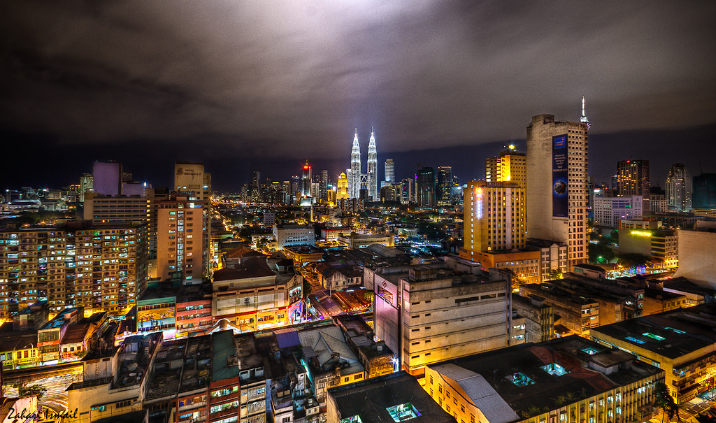 Photograph Chow kit road to Klcc HDR by zarie72 on 500px