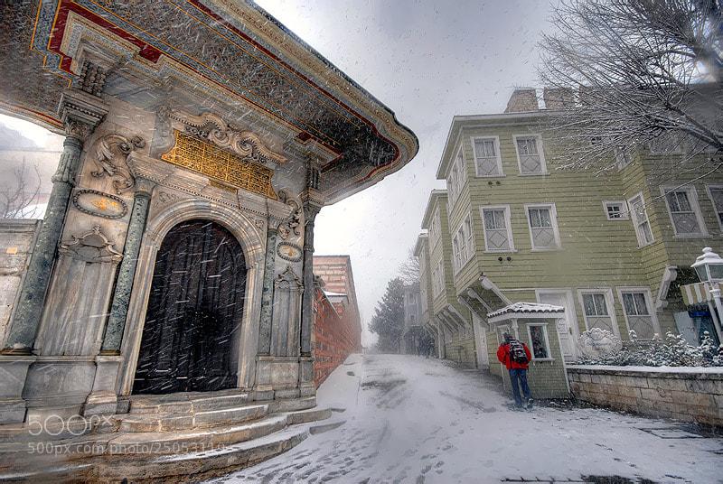 Photograph Snow in Sogukcesme Street by Salih Zorbozan on 500px