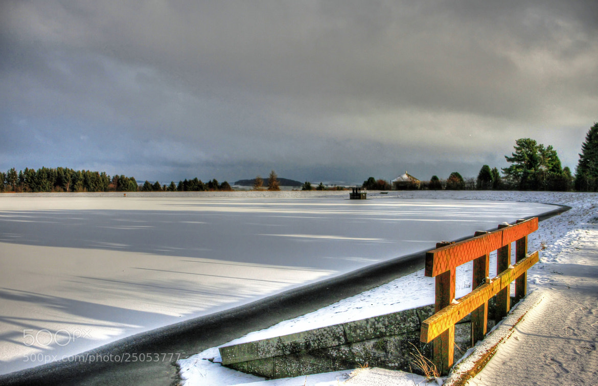 Photograph Clatto Reservoir In Winter by Hilda Murray on 500px