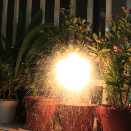 Explosion, Canon EOS 700D, Canon EF-S 18-55mm f/3.5-5.6 IS STM