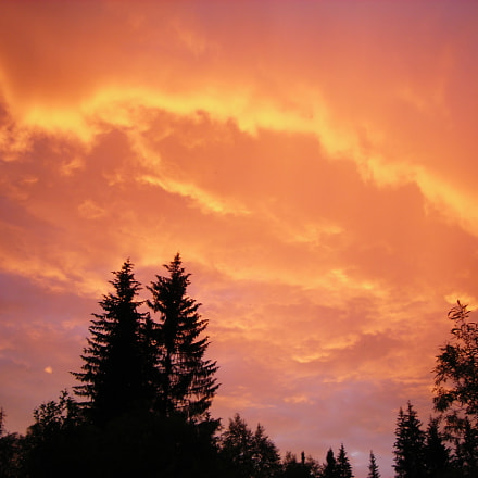 Закат, Nikon COOLPIX L3