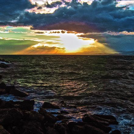 Ocean, Canon POWERSHOT A450