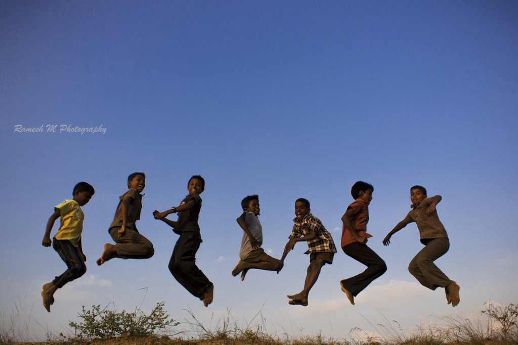Photograph jumping shot by Ramesh Muthaiyan on 500px