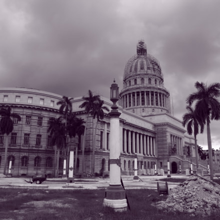 Havana Capitol, Canon EOS 70D, Canon EF-S15-85mm f/3.5-5.6 IS USM