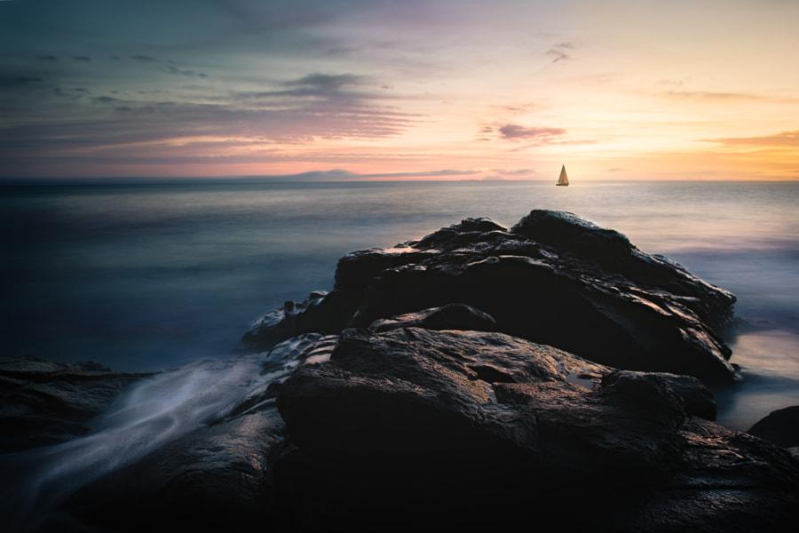 Sail into the Sunset, автор — Dave Napox на 500px.com