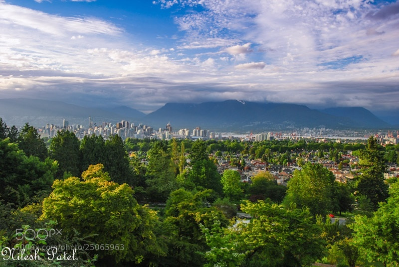 Photograph Vancouver Downtown. by Nilesh Patel on 500px