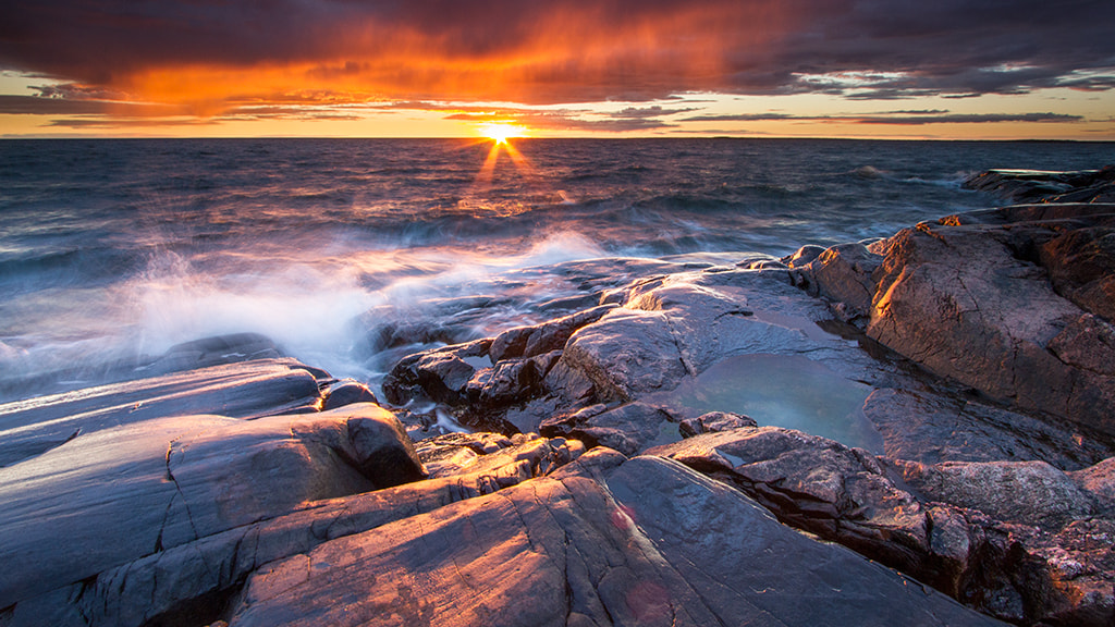 Photograph Aland sunset by Linus Falk on 500px
