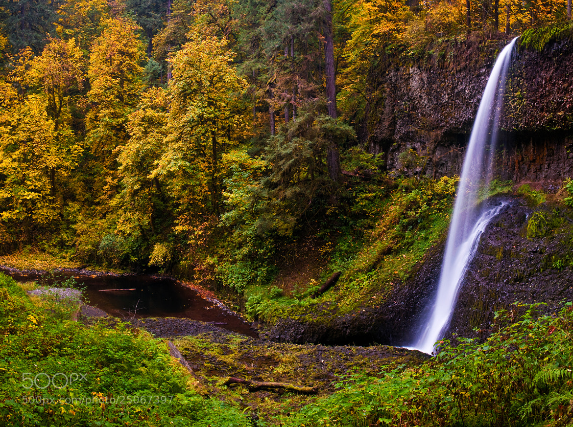 Photograph Drake Falls in the fall by Karl Johnson on 500px