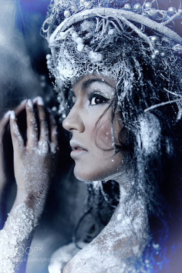 Photograph Ice Princess by Marit Kristine Aasen on 500px