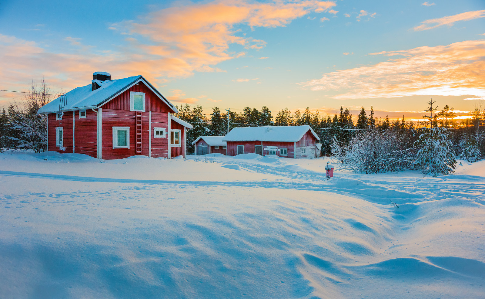 Photograph Sami farmhouse by Thierry Hennet on 500px