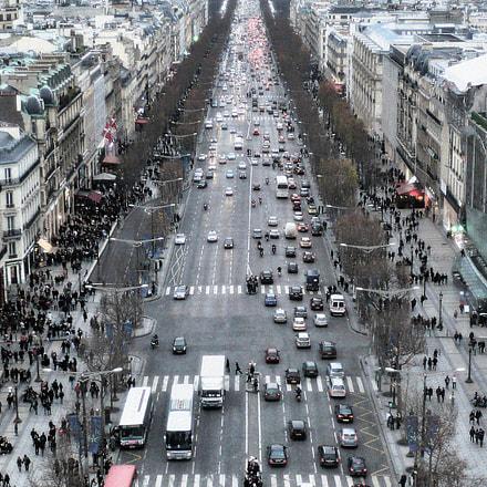 Avenue des CHAMPS ELYSEES, Panasonic DMC-LS60