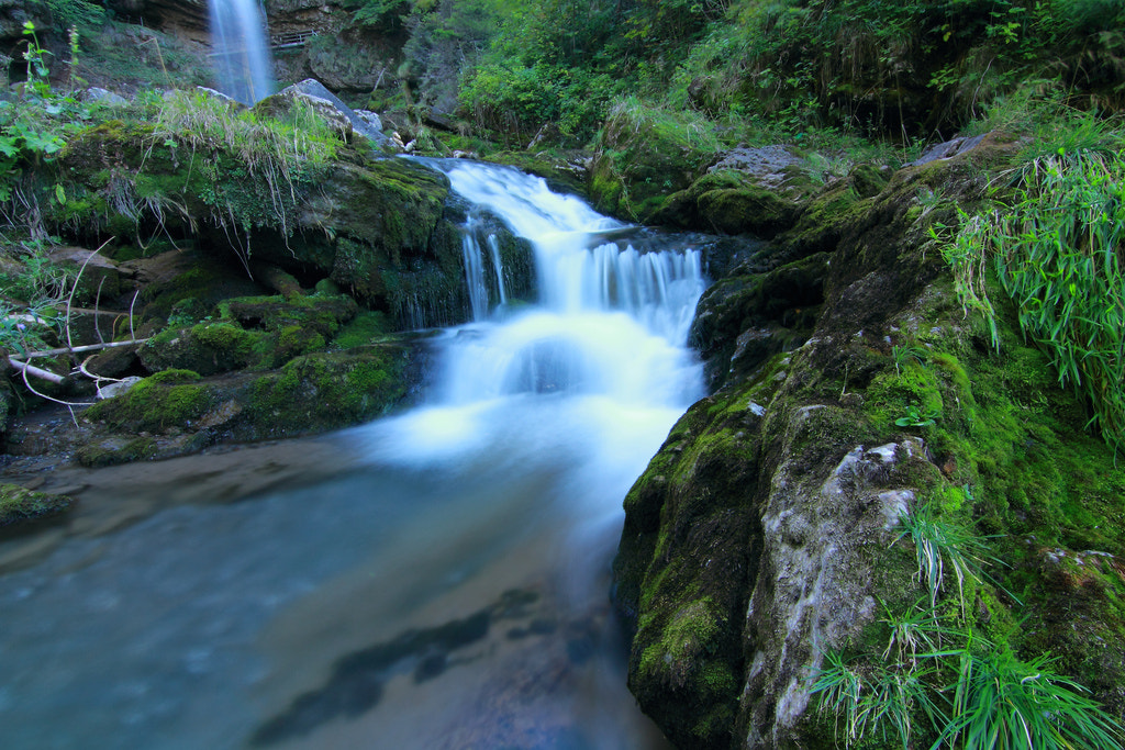 Photograph Waterfall Giessbach by Abdulmajeed Abdullah on 500px