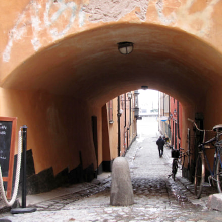 Old town Stockholm, Canon POWERSHOT SX1 IS