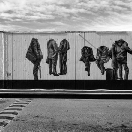 M.G. Graffiti bus station Tarragona