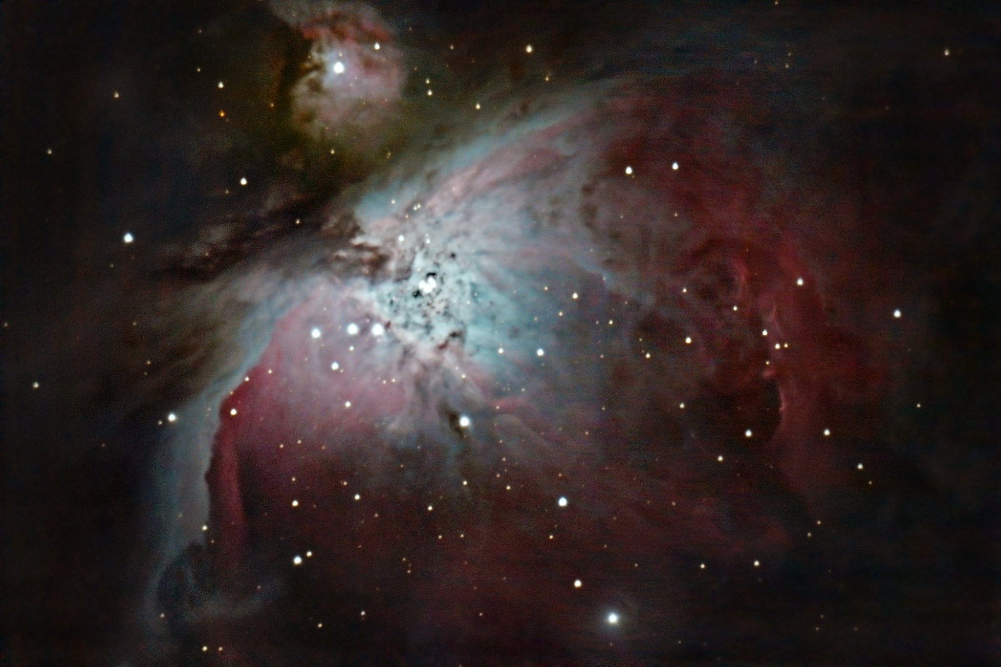 Photograph M42 - Orion Nebula by Jakob Halskov on 500px