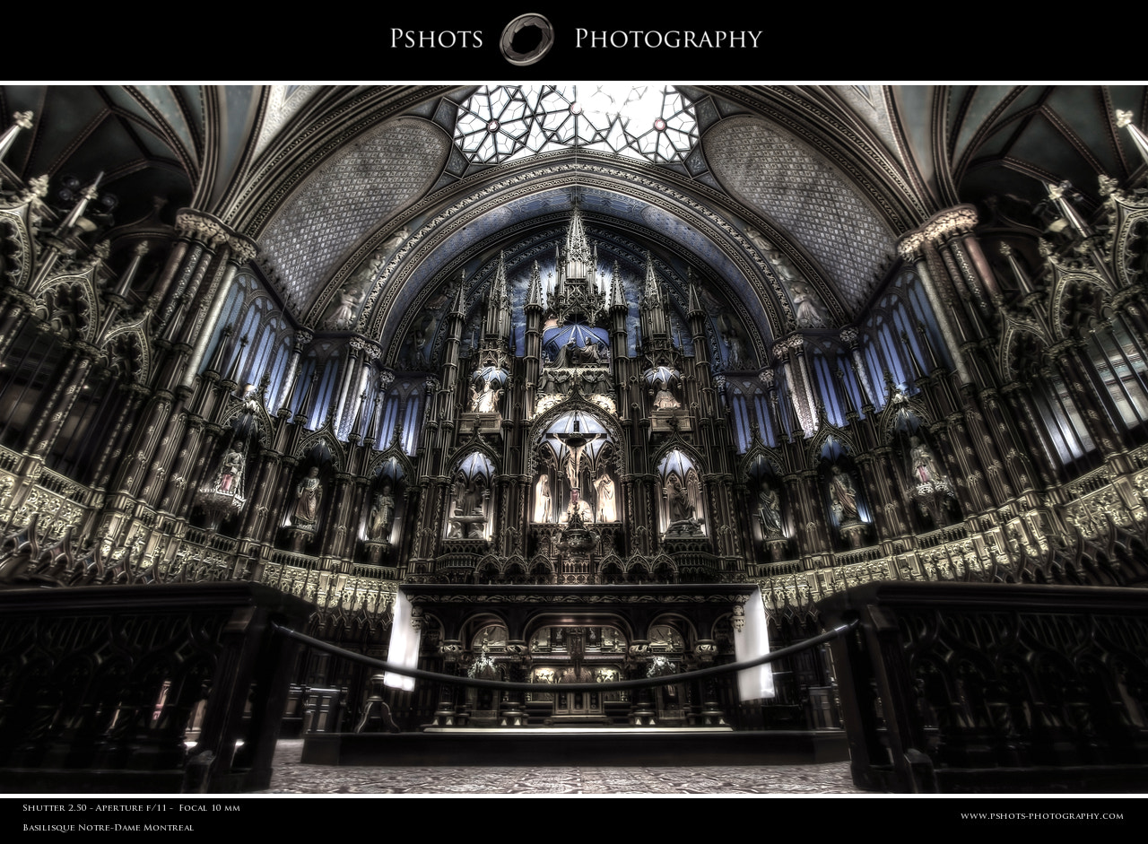 Photograph Basilisque Notre-Dame Montreal by Philippe Brantschen on 500px