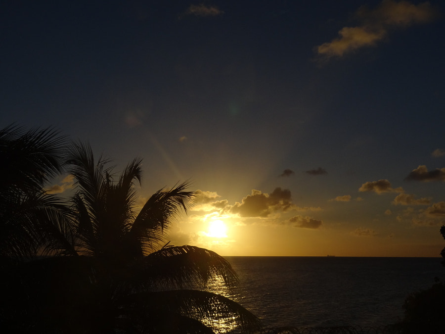 Sunset on Curaçao