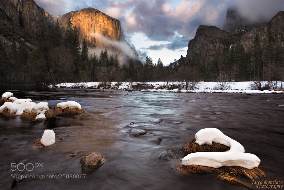 Photograph Snow Across the River by jared ropelato on 500px