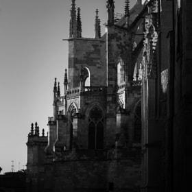 Amanecer   Catedral de León