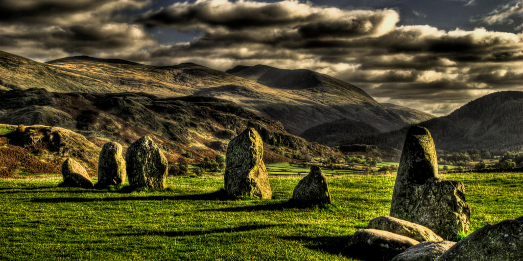 Photograph Keswick Stone Circle, Lake District by Steve Drummond on 500px