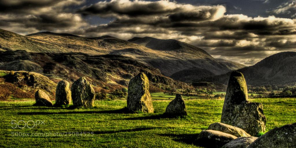 Photograph Keswick Stone Circle, Lake District by Steve Drummond on 500px
