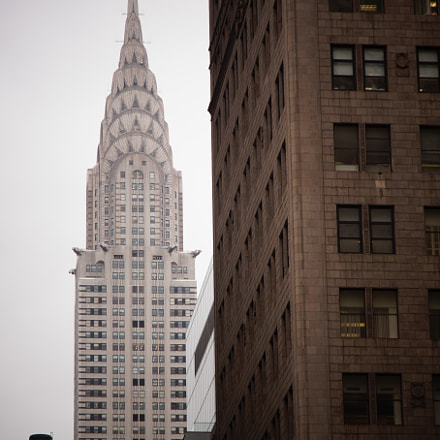 Chrysler Building, Sony SLT-A58, Sony DT 16-105mm F3.5-5.6 (SAL16105)
