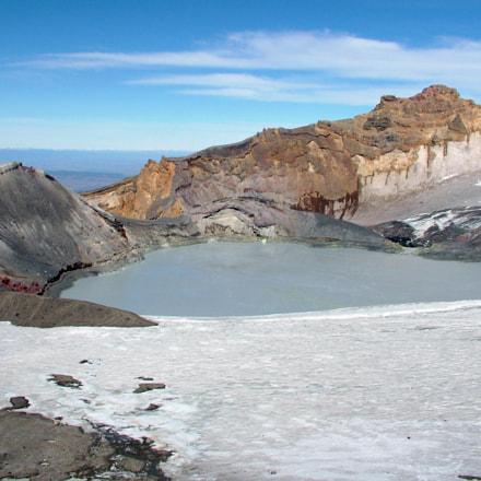 Crater Lake, Mount Ruapehu, Fujifilm FinePix S20Pro