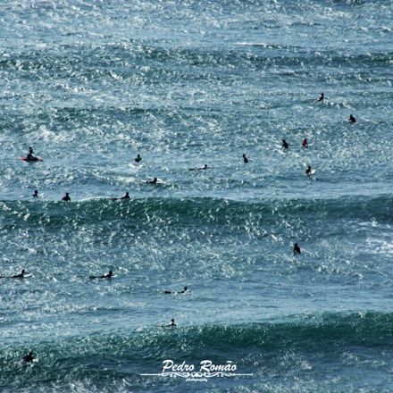 Sea of People., Fujifilm FinePix S9600