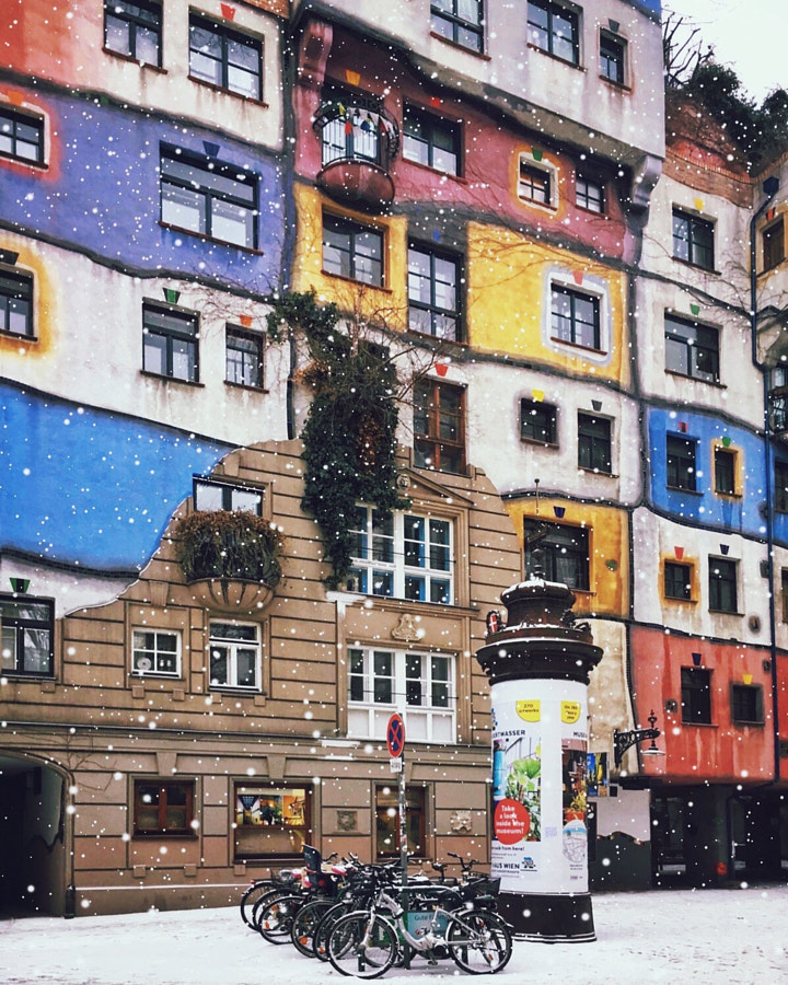 Hundertwasserhaus. by Julia Dávila-Lampe on 500px.com