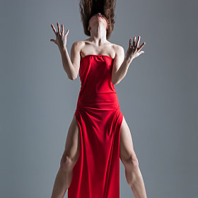 Dancer in red by Alexander Yakovlev (AlexanderYakovlev)) on 500px.com