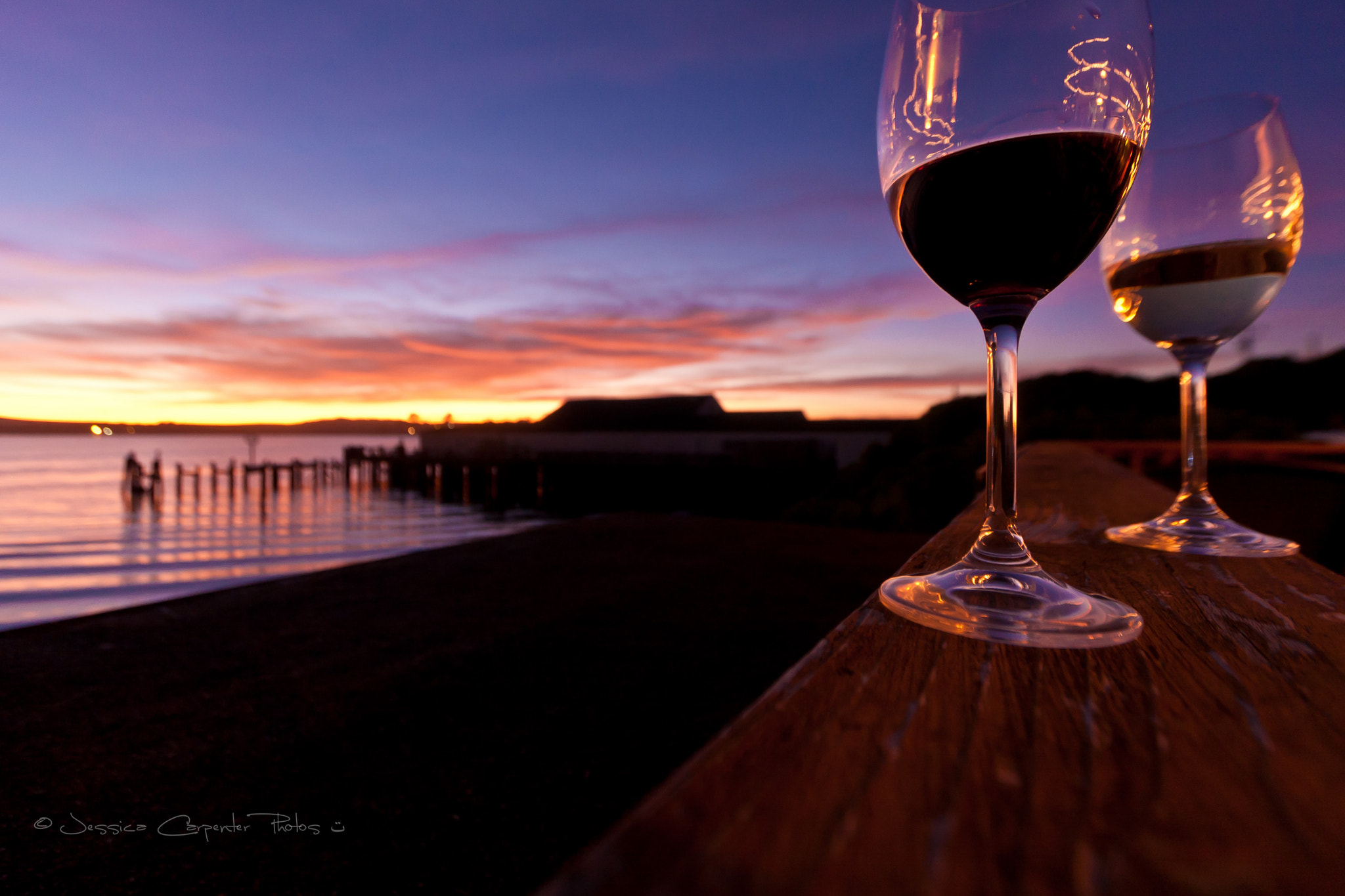 Photograph Sipsy Tipsy Sunset by Jessica Carpenter on 500px