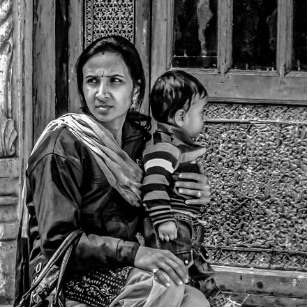 Indian Mother and Child, Panasonic DMC-ZS19