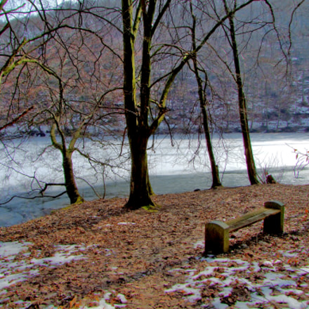 Monastery ponds, Fujifilm FinePix S100FS