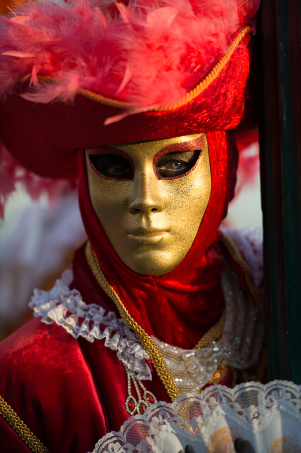 Photograph Golden Mask by Lisa Osta on 500px