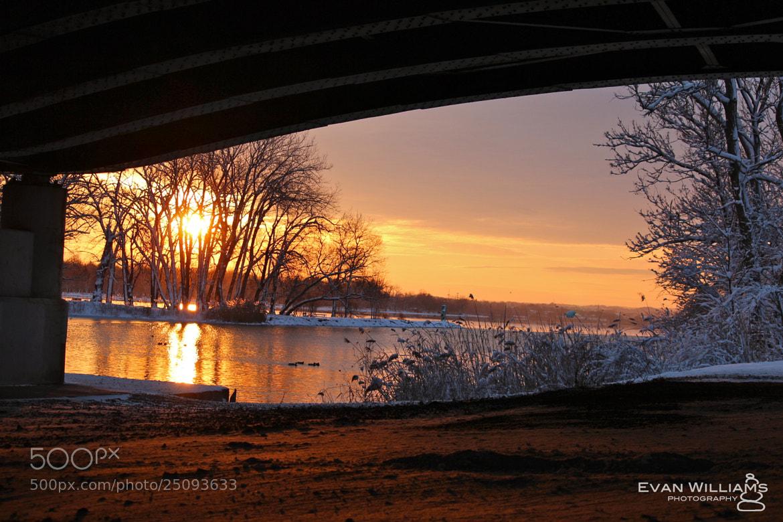 Photograph Syracuse Sunrise by Evan Williams on 500px