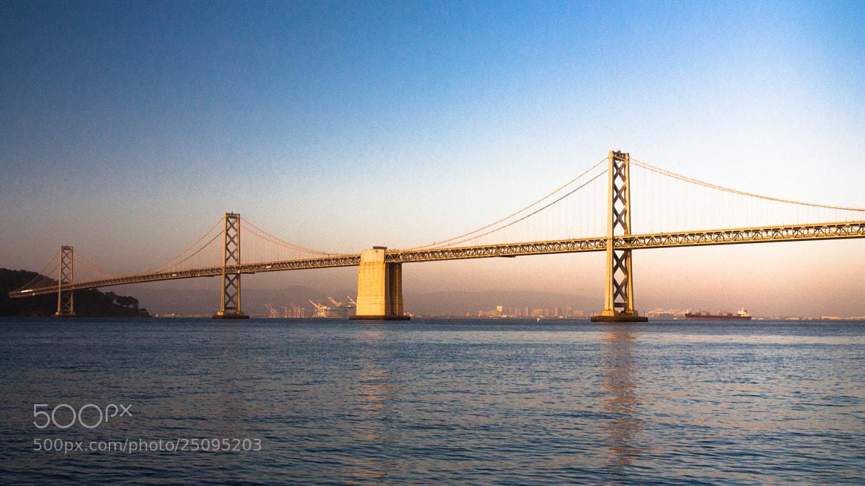 Photograph Bay Bridge at Sunset by Ash Furrow on 500px